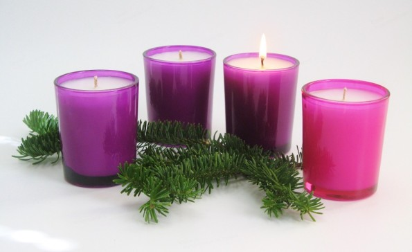 Advent candle_1st Sunday