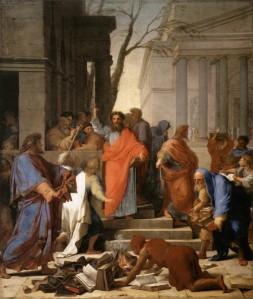St. Paul Preaching at Ephesus_LE-SUEUR-Eustache