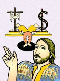 Lucas 16, 1-13 Color_Jesus choices God and money