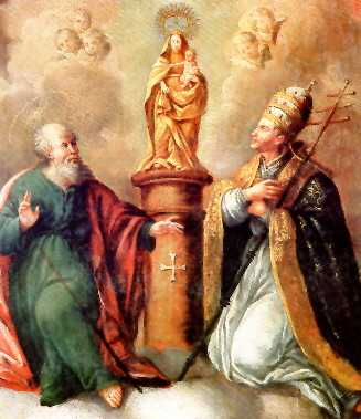 Basílica de Nuestra Señora del Pilar 8 Pope